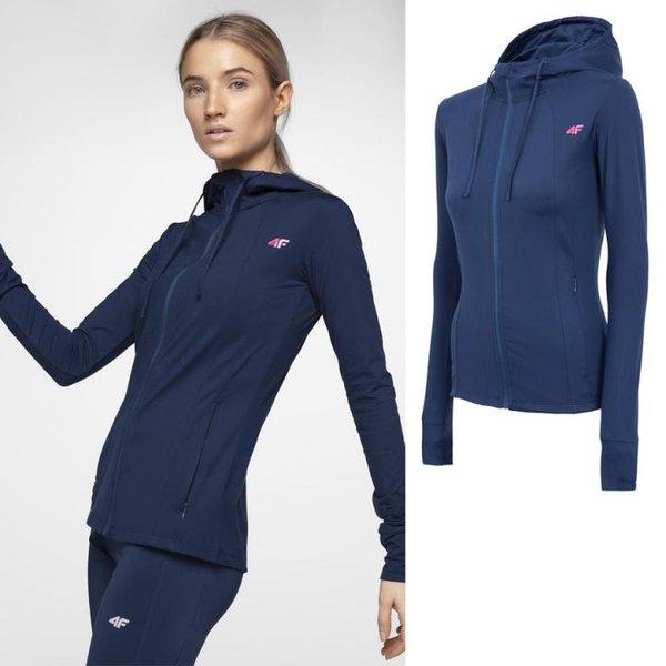 4F - Girlfighter - Damen Fitnessjacke - navy