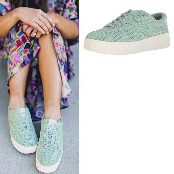 Tretorn - Nylite 3 bold - Damen Sneaker - minzgrün