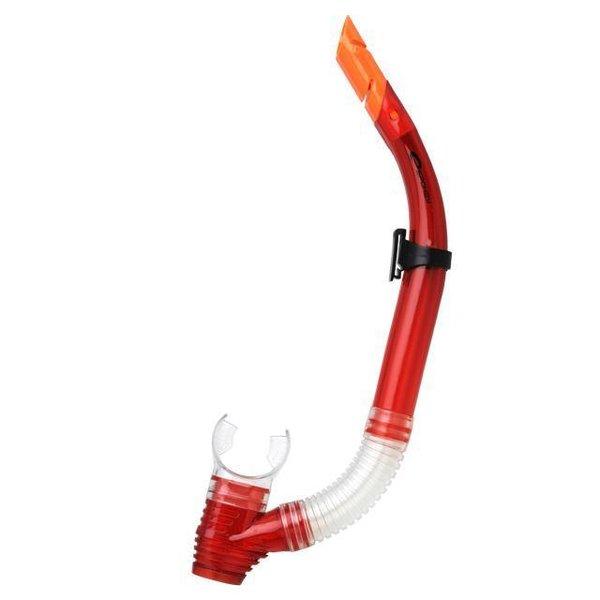 SPOKEY - Ritos 2– Schnorchel mit Aquastop - rot