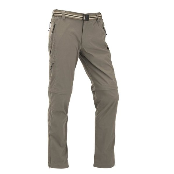 Maul - Ontario II SP - Herren Zip Off Trekkinghosse mit Instektenschutz - beige