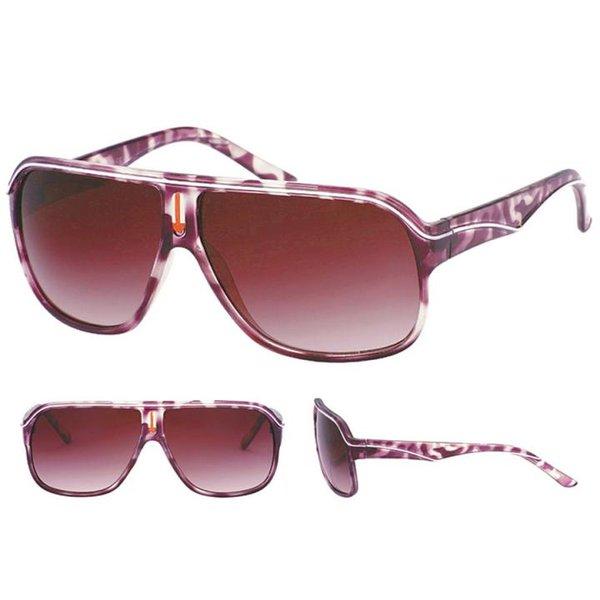 QWIN - Sonnenbrille - Gläser UV 400 - schwarz rot