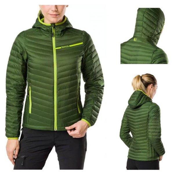 Vertical - Damen Daunenjacke Isolationsjacke, grün