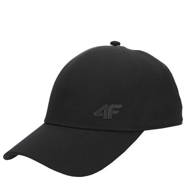 4F - Schildmütze, Basecap 2020 - schwarz
