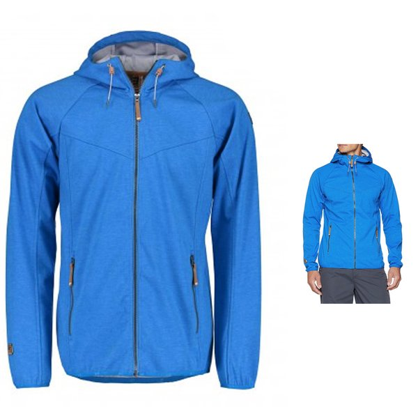 Icepeak - Law Jacket - wasserdichte winddichte Outdoorjacke - blau