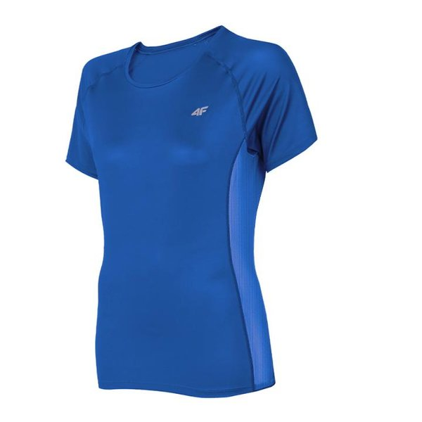 4F - Damen Fitness T-Shirt - blau