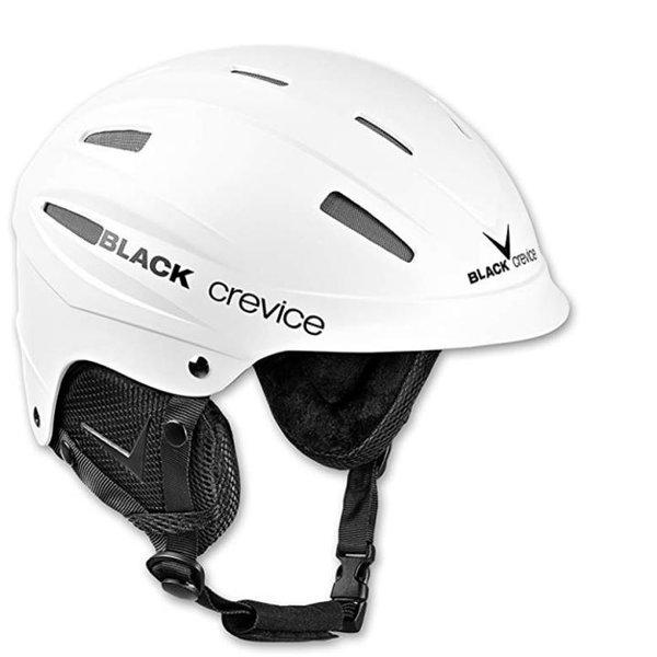 Black Crevice Erwachsene Skihelm ISCHGL Ski Helm, weiß 54-56