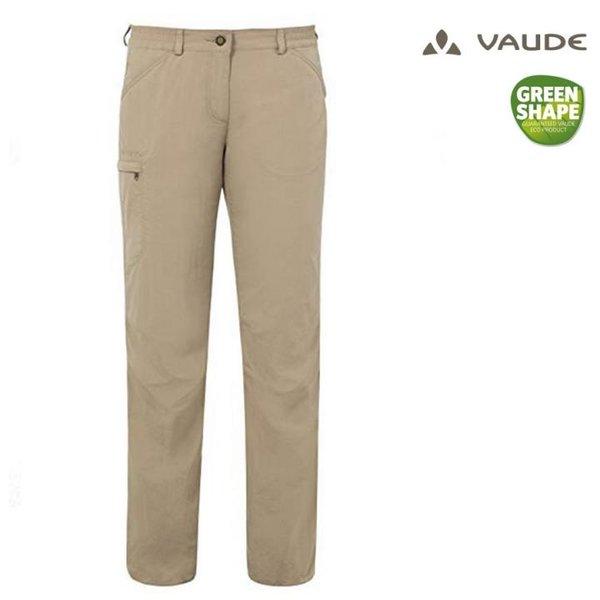 Vaude - Farley Pants IV Hose - Damen Trekkinghose Outdoorhose - beige - 48 3 XL