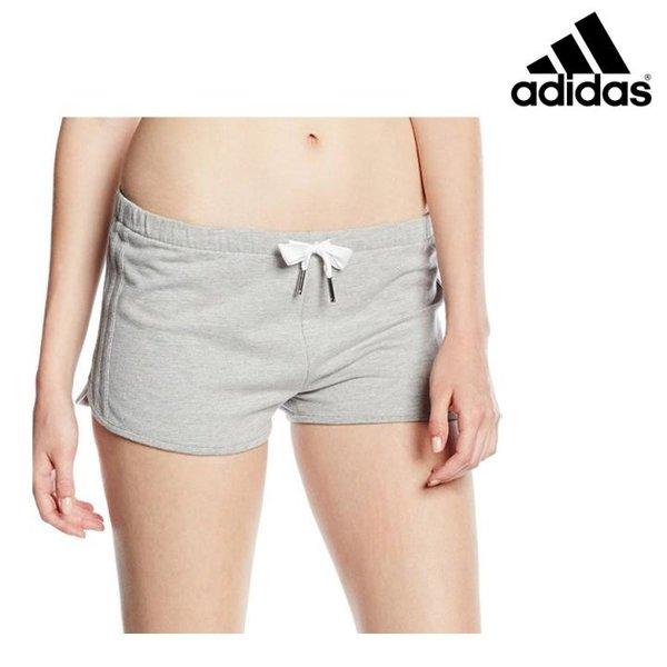 Adidas - Shorts Slim - Damen kurze Hosen - grau-44/XXL