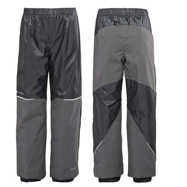 Vaude Kinder Escape Pants V Hose Wetterhose - schwarz 98